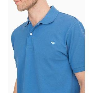 Men's Southern Tide Blue Skipjack Polo Pullover